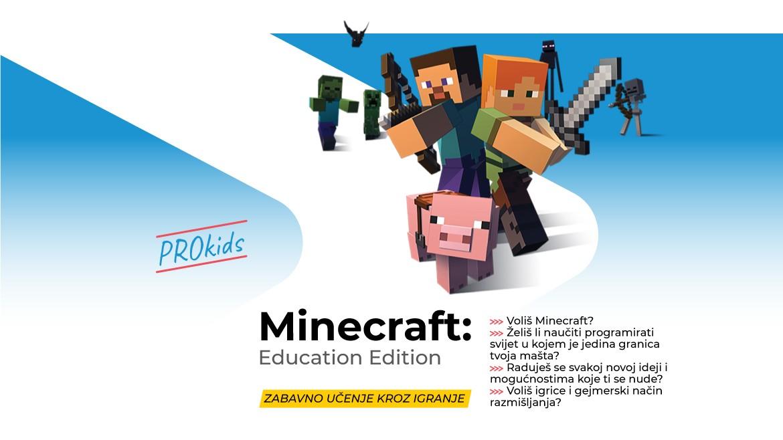 Minecraft: Education Edition avantura
