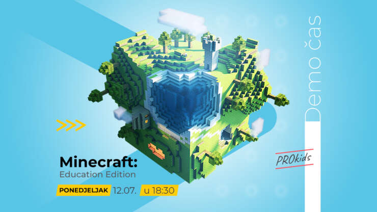 Demo čas Minecraft: Education Edition